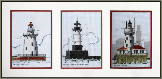 needlework-framed-lighthouse-picture