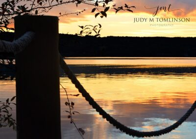 Sunset on Lake Seneca 24x36 Gallery Canvas $160